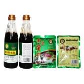 参茯康特色酱油+黄豆酱组合(酱油2瓶+黄豆酱2袋)