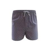 珠珠【1条装 】男大码棉质居家休闲格子阿罗裤平角内裤 全国包邮