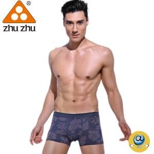 珠珠【4条装】7011男士 平角内裤  全国包邮