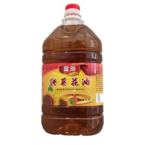 温明 纯葵花压榨食用油 2.5L