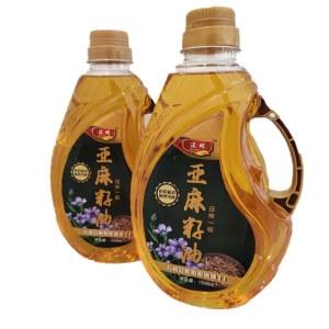【温明】 一级冷榨100%纯亚麻籽油1500ml