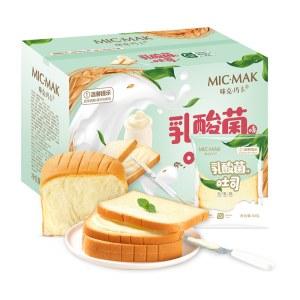 咪克玛卡酸奶吐司面包乳酸菌夹心网红零食早餐1000克/箱