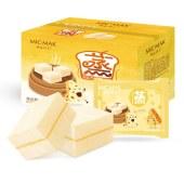 咪克玛卡海盐芝士味蒸蛋糕1000克/箱