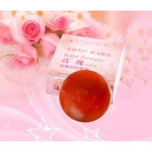 玫瑰花草皂