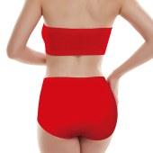 珠珠四条装5664H棉质本命年大红中腰素色三角内裤全国包邮