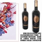 柳谷君红蓝梅酒