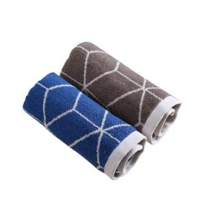 珠珠 两条 水立方 毛巾