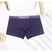【3条装】海*之家商务纯色男士舒适中腰平角内裤