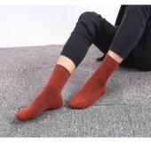 萌甜君加厚保暖男袜,5双一组,颜色5双随机发, 可以留言挑色