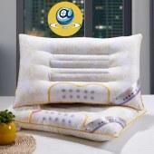 鹤平半磁疗枕头