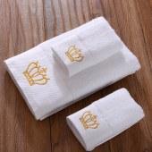 鹤平纯棉长绒棉毛巾面巾浴巾