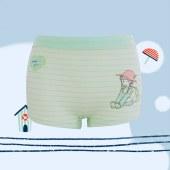 珠珠【4条装】 女童平角内裤