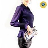 玛克玛索P1100双层网纱衬衫