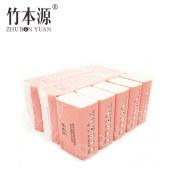 竹本源原浆本色竹纤维抽纸纸巾GCZY5390B(15B)