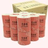 竹本源原浆卷纸本色竹纤维纸巾GCZY1140(18J)