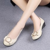 妈妈软底女单鞋53072