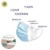 迪亚-003-防病菌防尘防雾霾一次性口罩