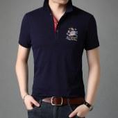 名梵洛思男士休闲T恤短袖