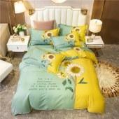 猫欢喜纯棉四件套全棉床单被罩