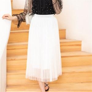 玫思丹 女网纱半身裙 半身裙61
