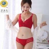 梦姿色文胸套装收副乳调整型胸罩2128T