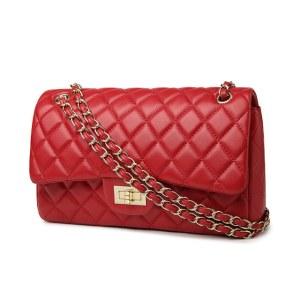 包包女新款时尚小香风奈儿菱格链条包单肩斜挎包欧美女包913升级版