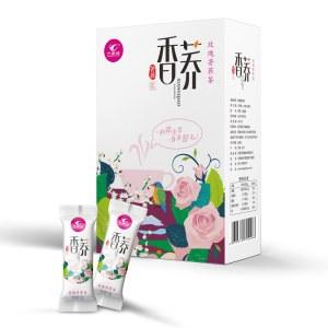 万里缘精品卡盒玫瑰香荞茶