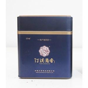 """汀溪兰香品牌绿茶系列50克""""紫色罐装""""2019明前茶一级一等茶叶"""