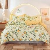 芷夏100%全棉四件套小清新床上用品