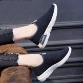 一脚蹬平底鞋韩版懒人单鞋p-1010