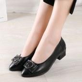 气质尖头女鞋
