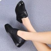 妈妈真皮软底鞋