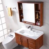 克莱帝浴室柜洗脸盆套装025
