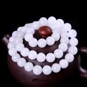 三泰珠宝天然和田玉精品油润白玉项链
