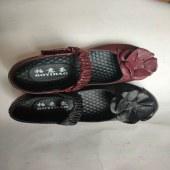 妈妈鞋魔术贴单鞋
