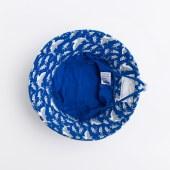 男童针织太阳帽印花鲨鱼帽