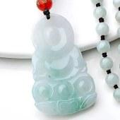 三泰珠宝天然缅甸A货翡翠观音