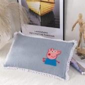 意莱维 水洗棉儿童乳胶枕头