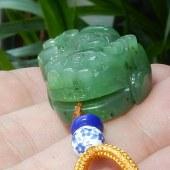三泰珠宝和田玉碧玉貔貅
