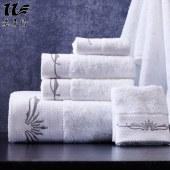 意莱维 全棉浴巾毛巾三件套