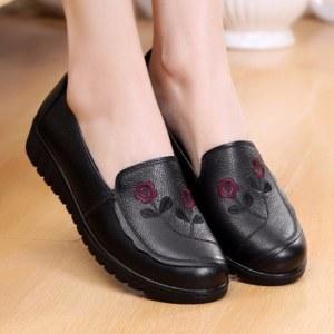 赤狐 牛皮女单鞋001