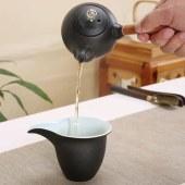 乌金盏黑陶瓷茶具