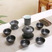 乌金盏茶具