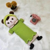 儿童卡通毛头艾草驱蚊枕