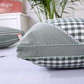 博羊水洗棉立体绗缝热熔枕