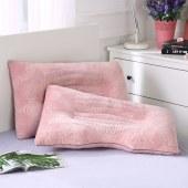 博羊雕花绒决明子舒适枕