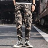 柒腾男青年休闲束脚裤-MLSG919