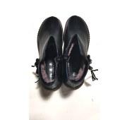 休闲妈妈真皮靴子
