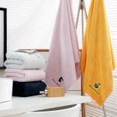 意莱维 刺绣毛巾浴巾三件套