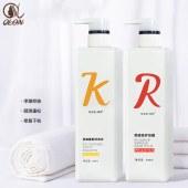 控油蓬松洗发水去屑柔顺洗发水柔顺护发膜组合套装